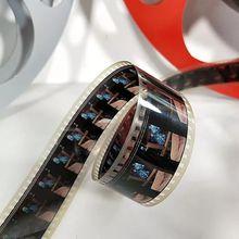 怀旧老qu0影婚庆摄ui5毫米16mm电影胶片片夹拷贝复古创意摆件