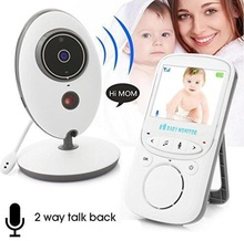婴儿监护器宝宝le4视器无线ft监控头