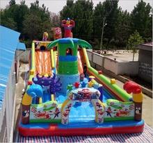 室外大型充气城堡ab5童淘气堡bx蹦蹦床乐园攀U岩气模游乐设