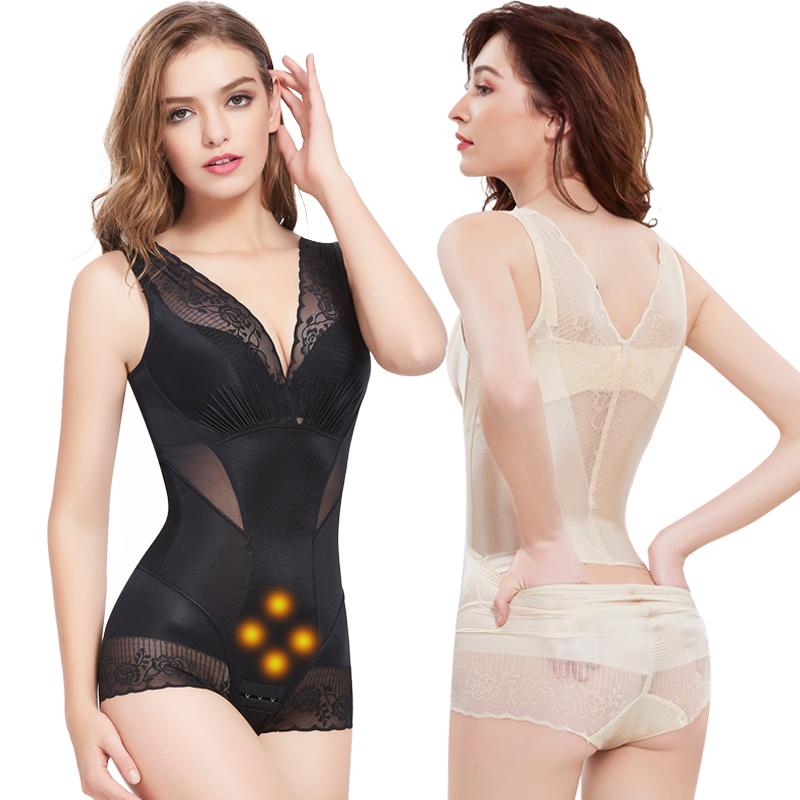 美人G计正品塑身连体衣薄款收腹束腰提臀孕妇产后塑形束缚减肚子