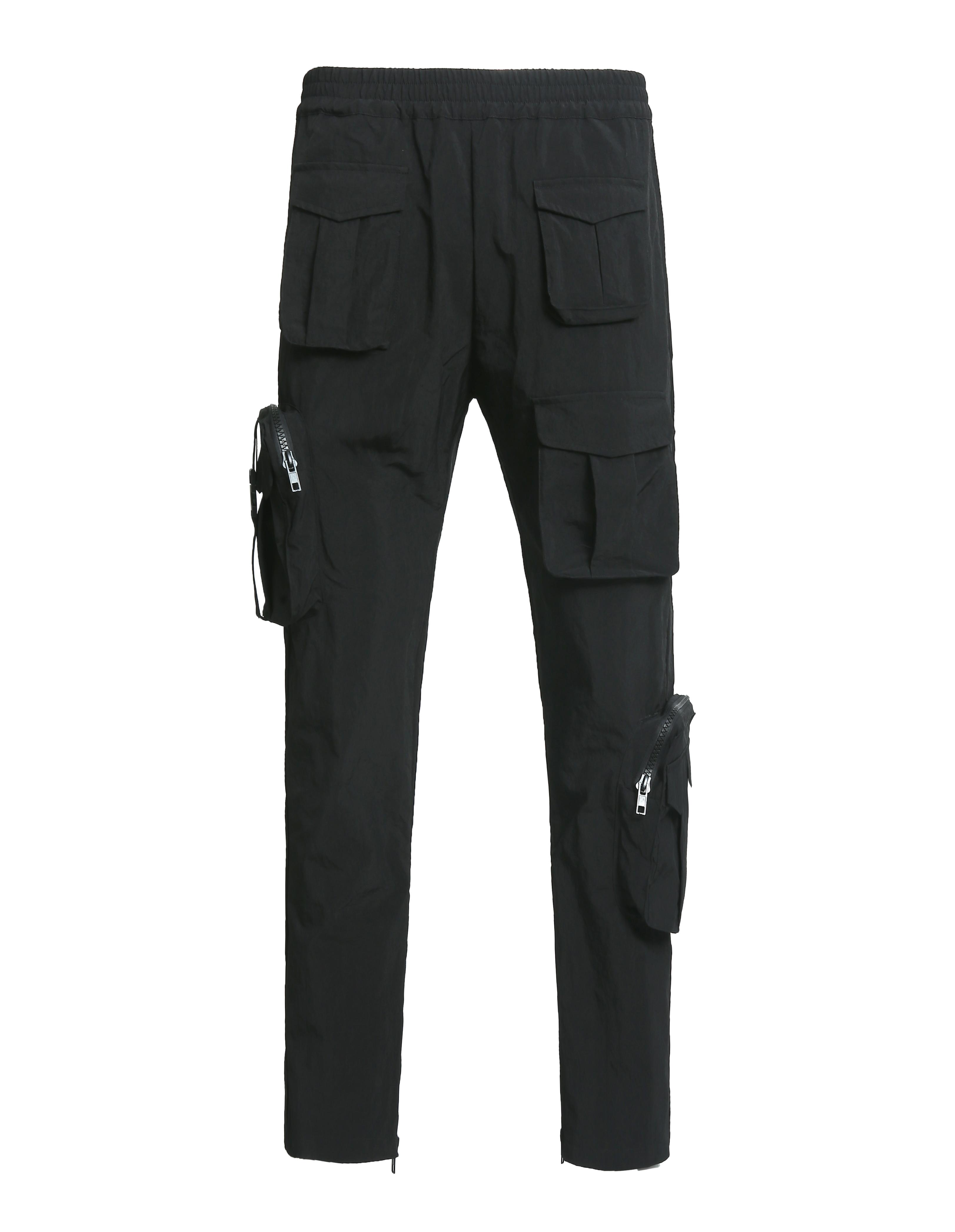 AciDKid美式休闲青春流行原创设计师多口袋街头战术工装运动长裤