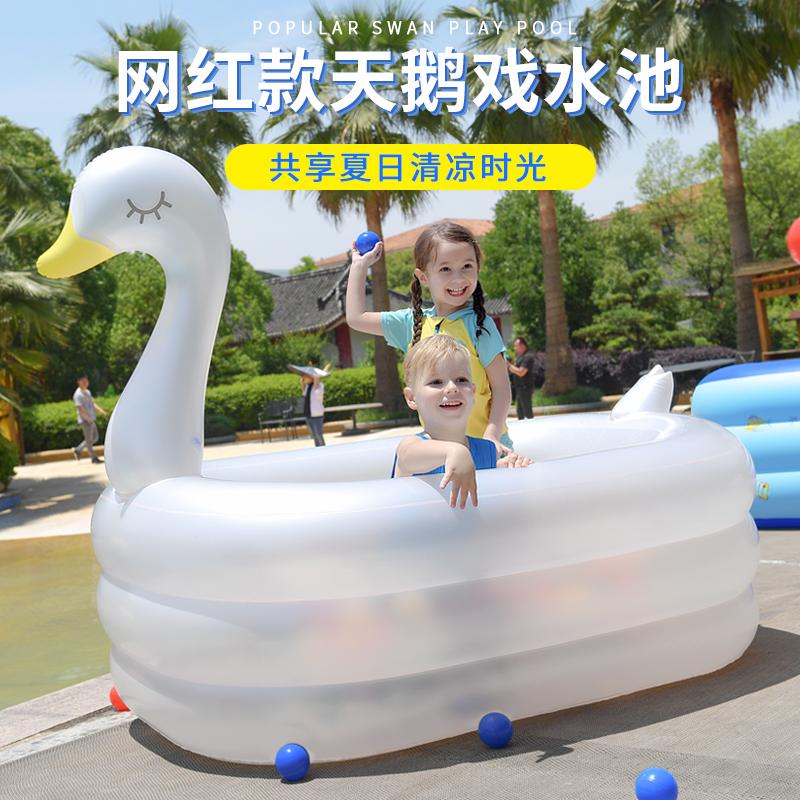点击查看商品:诺澳婴儿童充气游泳池家庭超大型海洋球池大号成人戏水池加厚家用