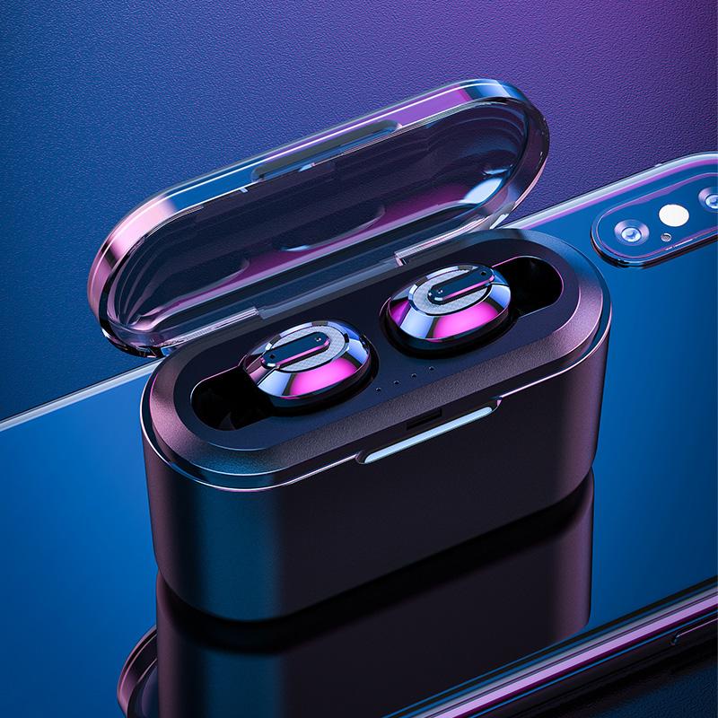 真无线5.0蓝牙耳机双耳隐形迷你小型运动单耳塞式头戴入耳式超长待机苹果安卓手机男女通用华为vivo小米oppo