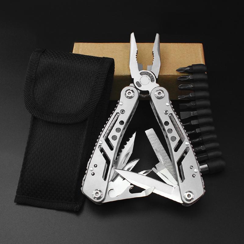 多功能折叠钳子户外组合小刀随身用品便携野外生存装备套装工具钳