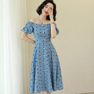 气质小清新女装连衣裙