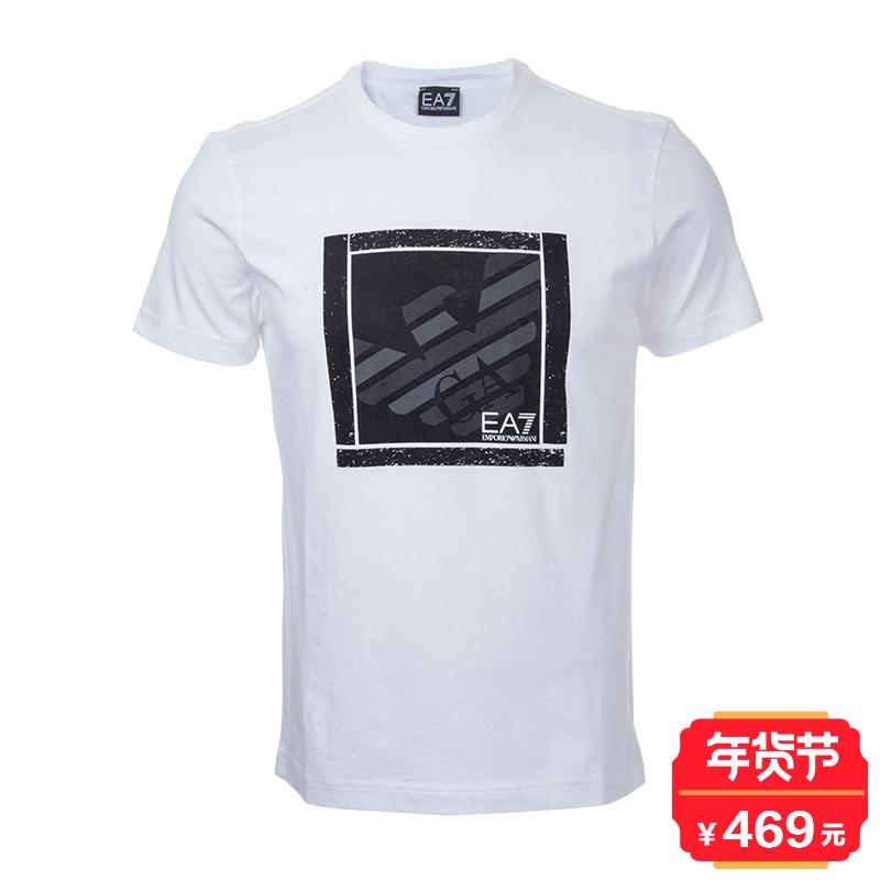 EMPORIO ARMANI阿玛尼EA76YPT98PJ30Z奢品男士短袖圆领T恤(斑)