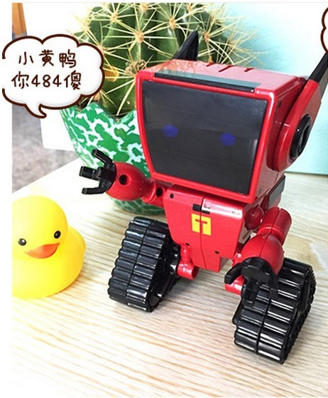 智能机器人coco小铁唱歌语音小孩电动儿童学习早教机玩具