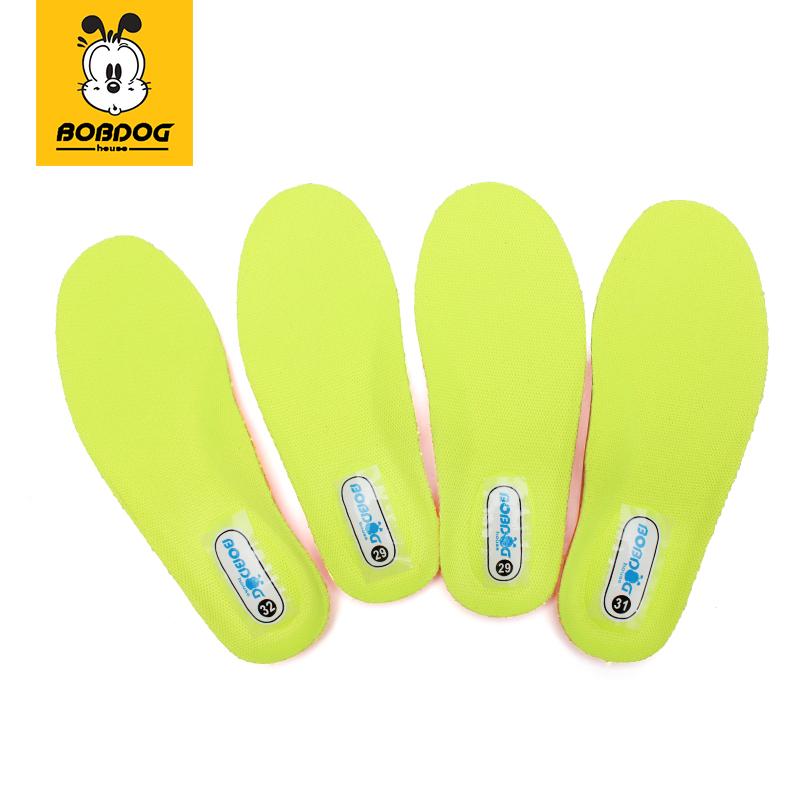 巴布豆鞋垫男童透气防臭吸汗女童春秋季宝宝儿童运动鞋垫可剪裁