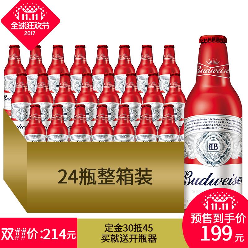 日期 百威 啤酒 红色 整箱 正品 小麦