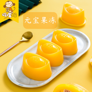 Ingot Fruity Pudding Juice Jelly 800g Boxed Leisure Office High Value Snack Candy Net Red Snack