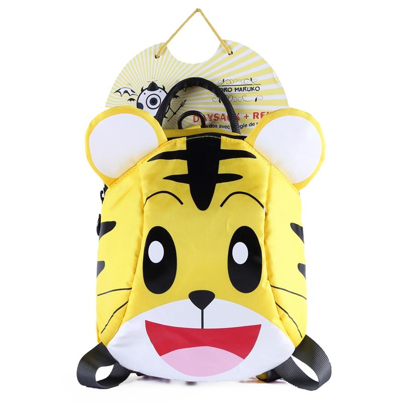 幼儿园书包1-3-5岁儿童防走失背包女童可爱小包包男宝宝双肩包潮