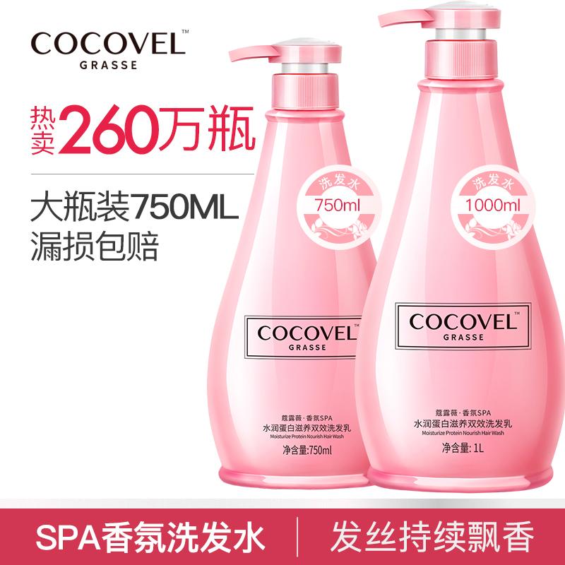 COCOVEL蔻露薇香水型洗发水露女 持久去屑止痒控油洗头发膏正品男