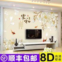 全铺满铺素色纯色隔音欧式丝绒壁纸绒面墙纸MSTM