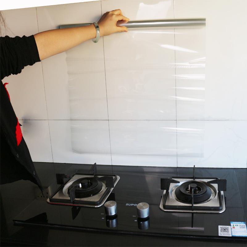 <b>橱柜厨房防油贴纸透明耐高温家具保护贴膜防水</b>