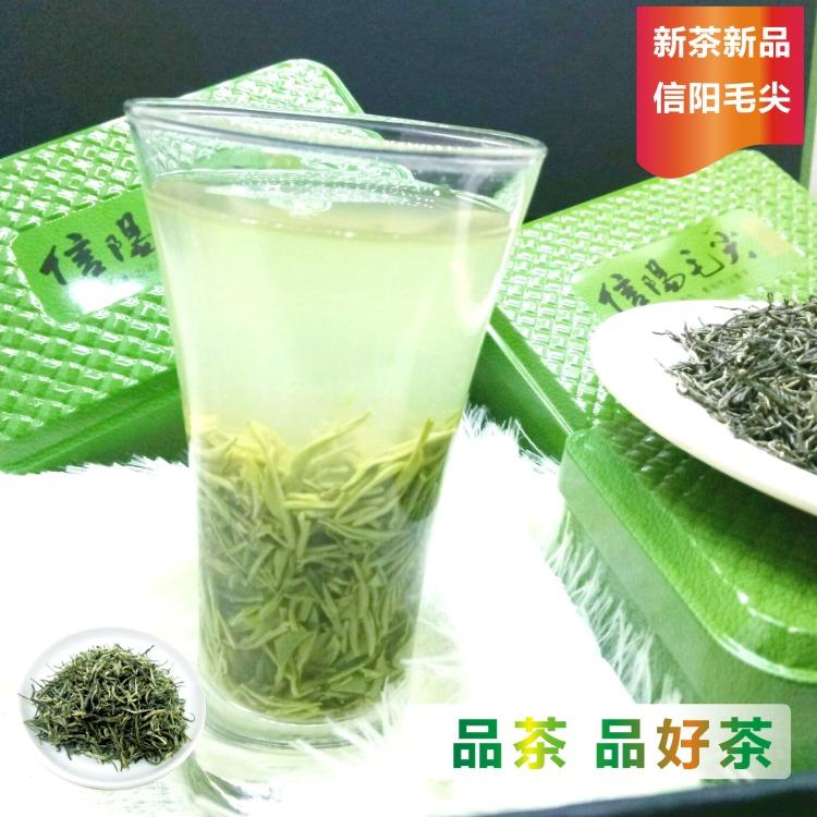 毛尖信阳绿茶2018茶叶新茶雨前单芽显毫嫩芽春茶自产自销特级包邮