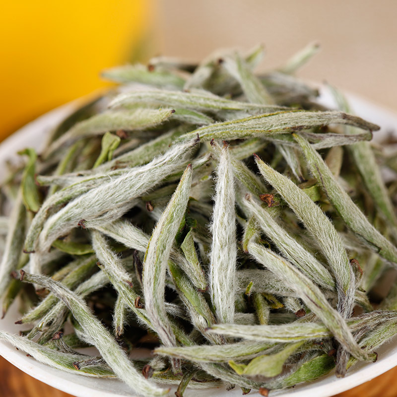2017年明前新茶政和白茶白毫银针特级茶叶正宗福建白茶50克散装茶