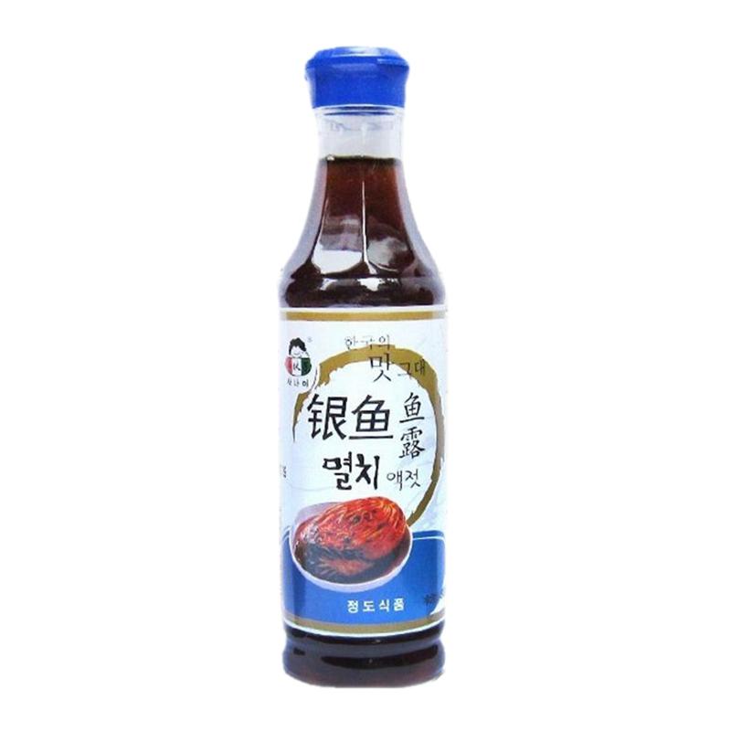 包邮 小伙子银鱼鱼露500g 腌制韩国泡菜韩式辣白菜虾油汁蒸鱼调料