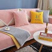 通用套罩北欧现代简约防滑全包万能套子沙发盖布 雪尼尔沙发垫四季