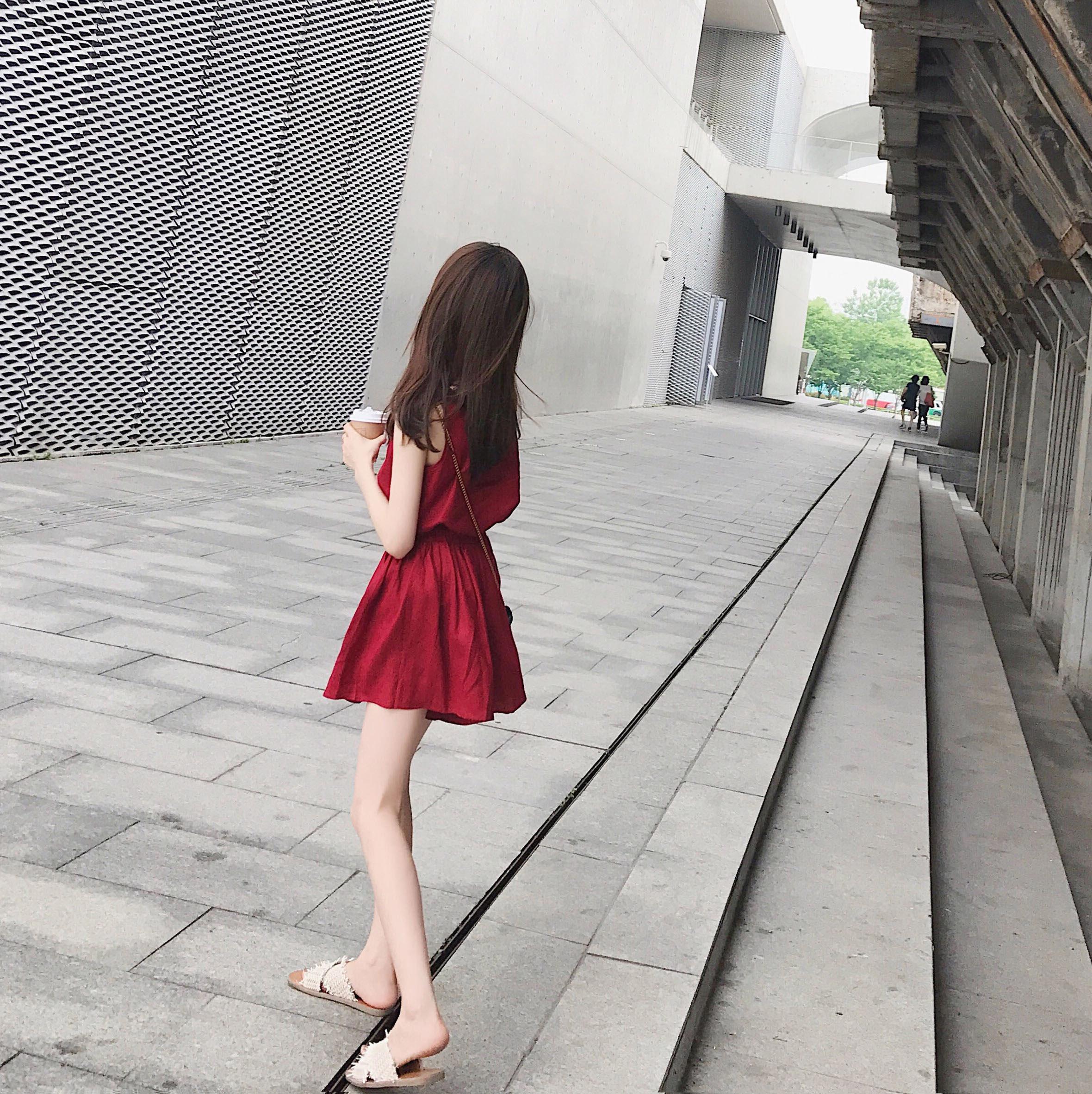 2018夏新款套装学生网红气质复古港味女神上衣短裤洋气两件套棉麻