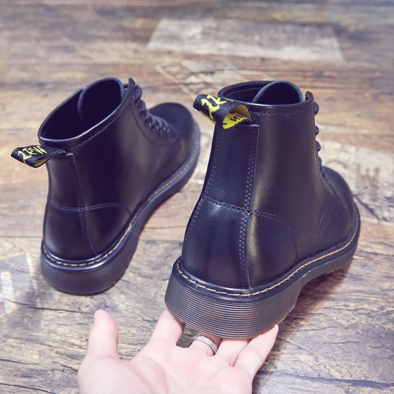 点击查看商品:冬季男鞋马丁靴男高帮英伦风加绒棉鞋短靴真皮靴皮鞋雪地靴男靴子