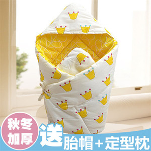 Spring and summer baby quilt cotton spring and autumn models newborn quilt autumn and winter thick thin section baby rug blanket baby supplies