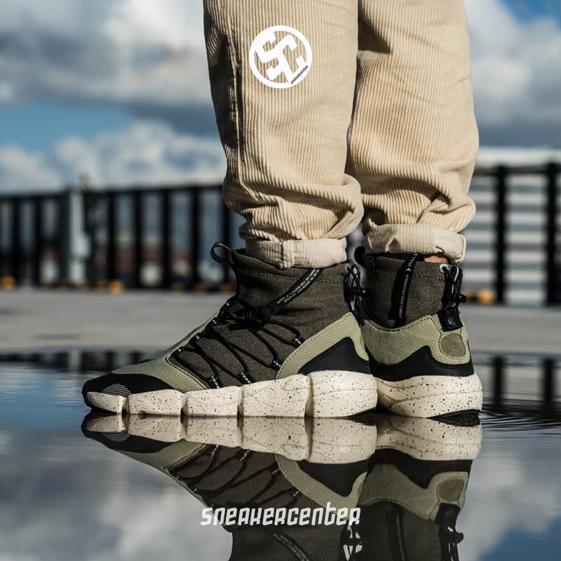 Nike Air Footscape Mid 男子机械机能休闲运动跑步鞋 AH8689-200