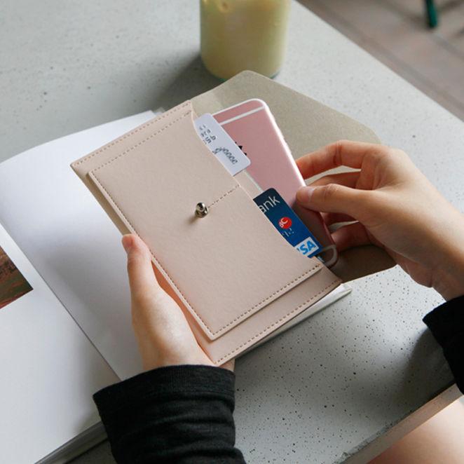 护照包机票护照夹旅行证件收纳包可爱男女卡包多功能证件袋保护套