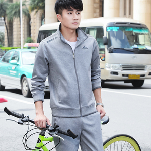 Middle-aged and elderly sports suit male spring and autumn casual sportswear suit male dad wear running sportswear male spring