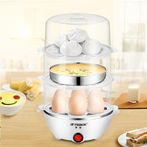 Hemisphere multi-function egg cooker automatic power off small 1 person egg steamer small home steamed egg machine dormitory artifact