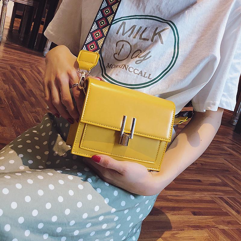 夏天小包包女2018夏季新款潮宽带单肩包韩版时尚小方包百搭斜挎包