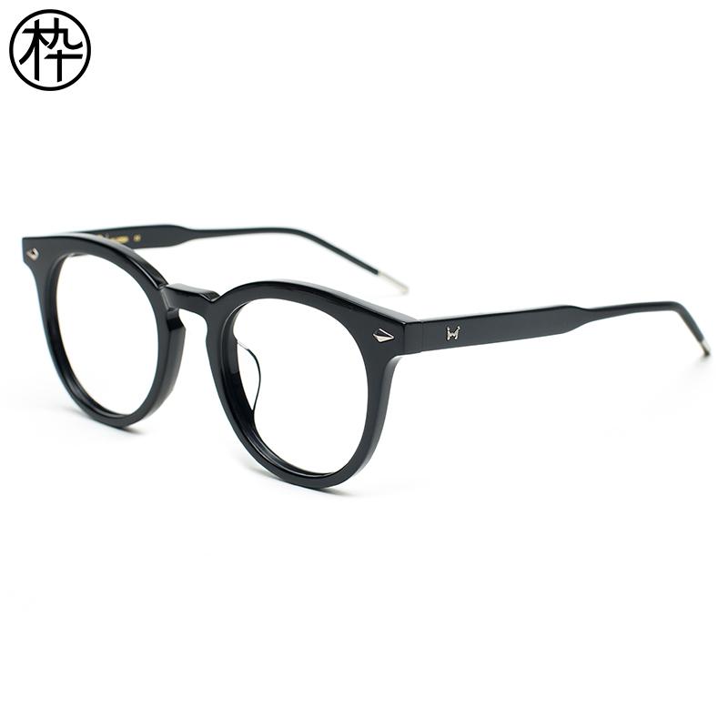 男士眼镜潮流 时尚2017新款 木九十FM1720079 女士眼镜时尚平光镜