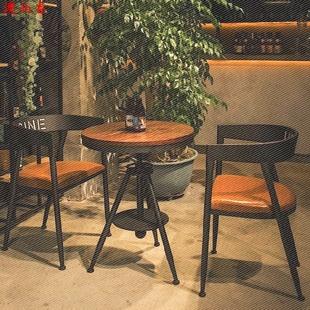 澳接待室桌子正方形画室咖啡店清新。奶茶店桌椅组合简约现代谈判