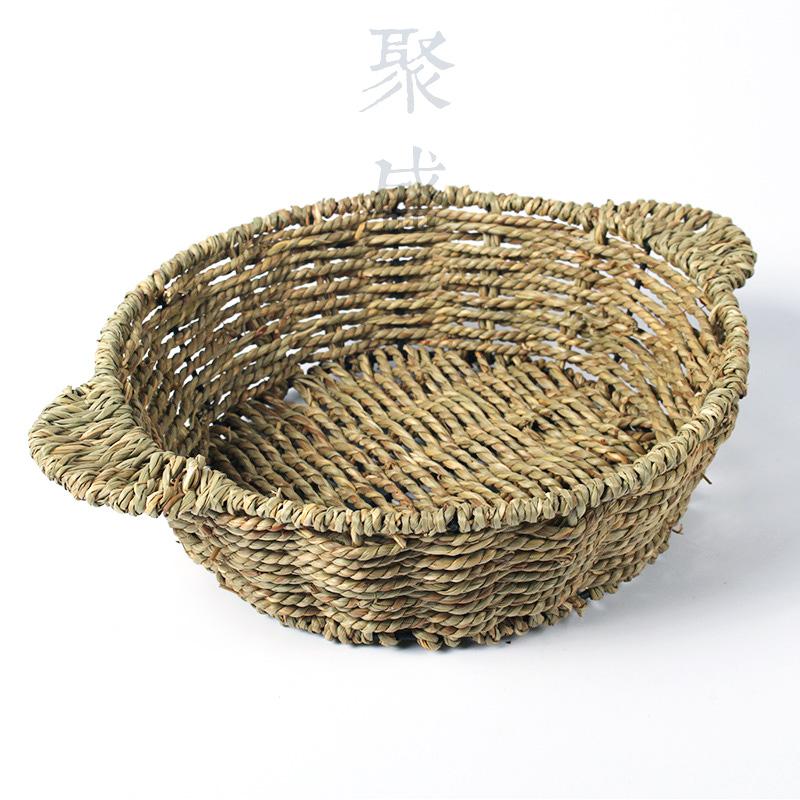 防烫手煲托 草编篮子 煲仔饭托草编煲仔托 隔热垫 砂锅煲 铁锅煲