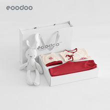 Eoodoo baby clothes newborn suit gift box spring and autumn just born men and women full moon baby mother and baby products