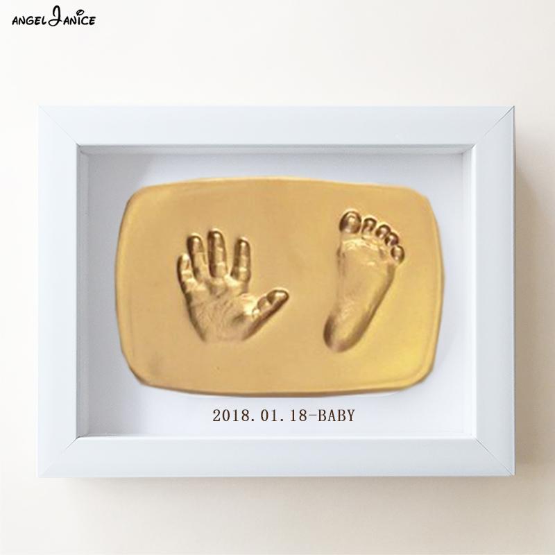 宝宝手足印泥手脚印手印泥纪念品儿童婴儿新生儿永久满月百天礼物