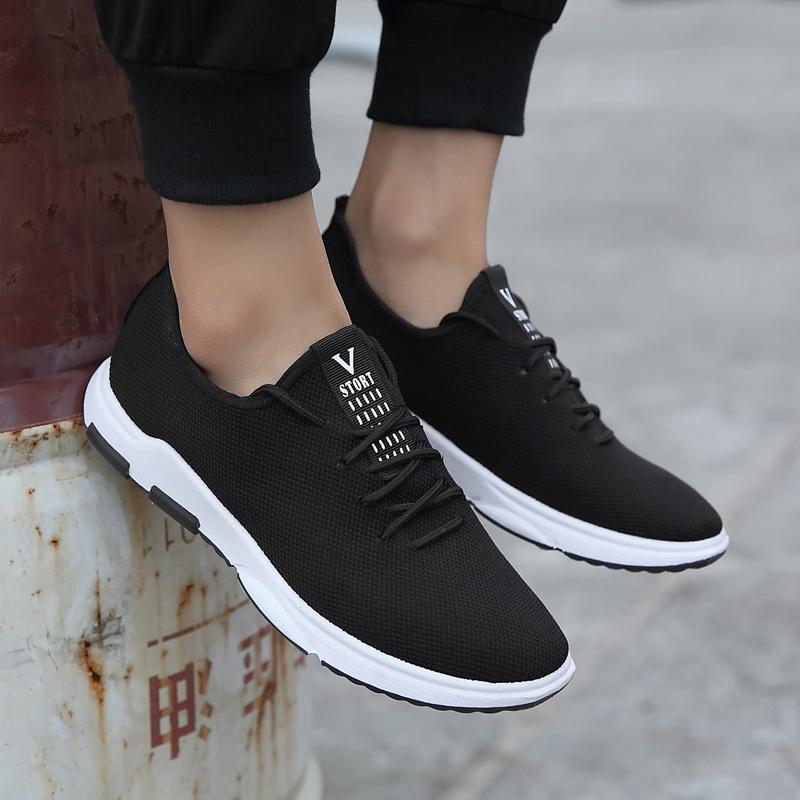 老北京布鞋新款男鞋秋冬季板鞋韩版运动休闲鞋潮流英四季伦帆布鞋