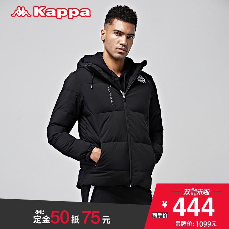 预Kappa运动羽绒服男外套保暖短款上衣2017冬季新款|K0752YY10D