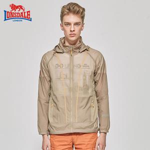 龙狮戴尔夏季新款防晒衣男皮肤衣超薄透气防水速干户外风衣休闲