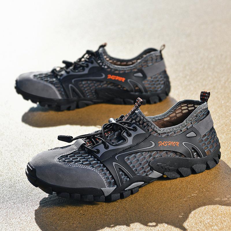 2020夏季速干涉水鞋男户外两栖鞋耐磨登山鞋子大码防滑透气溯溪鞋