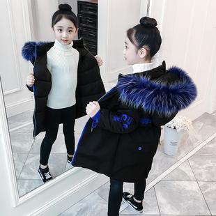 7女童棉衣服 8冬装中大童小学