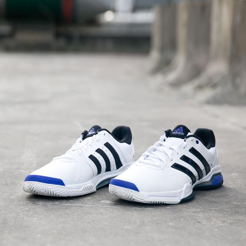 adidas阿迪达斯男鞋barricade team 4 男子网球鞋运动鞋M21707