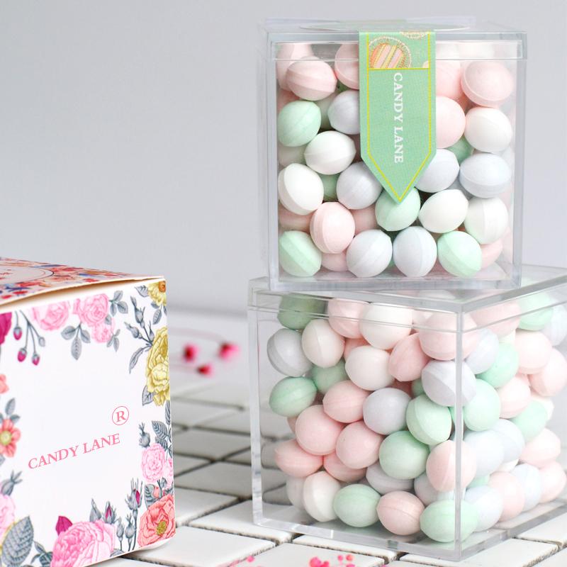 【买2送1】戒烟糖网红无糖薄荷糖清新口气香体糖约会接吻糖果礼盒