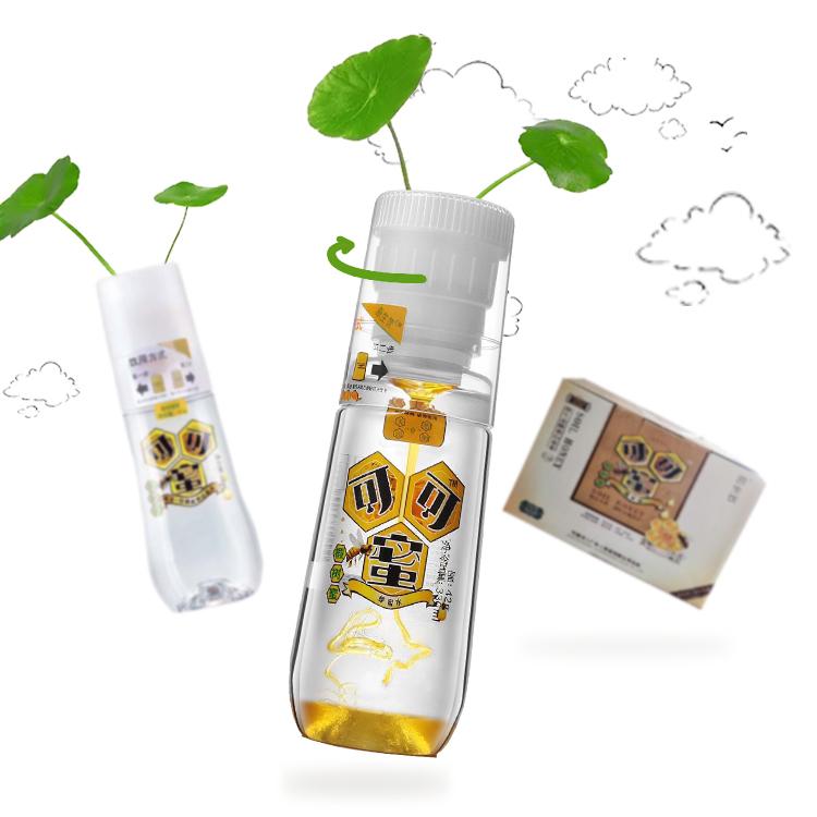 可蜜可 饮用天然山泉水可可蜜椴树蜂蜜水原生饮料矿泉水330ml