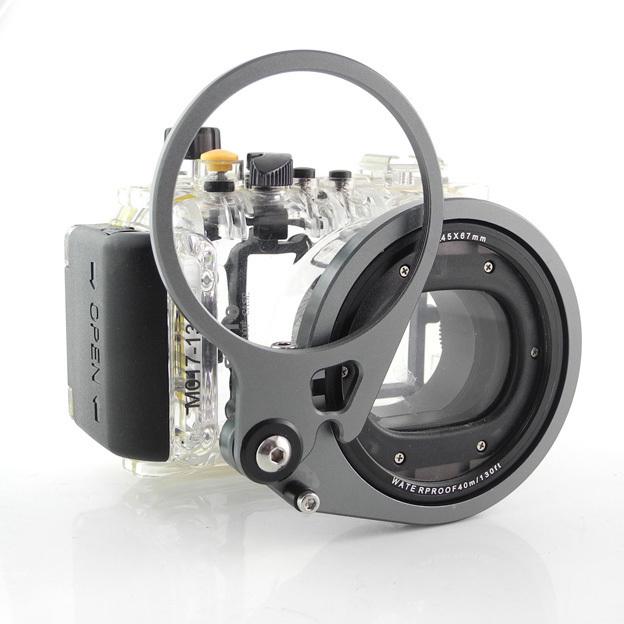 BubbleScuba  M67镜头转接器适合美康防水壳S100,120,RX100