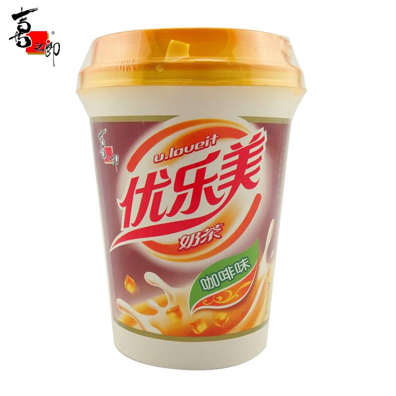喜之郎 优乐美 80g咖啡味奶茶X15杯 速溶冲饮品 饮料 零食品