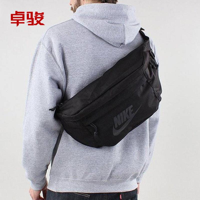 正品NIKE运动腰包男女胸包大容量多功能斜挎单肩包BA5751-030-010