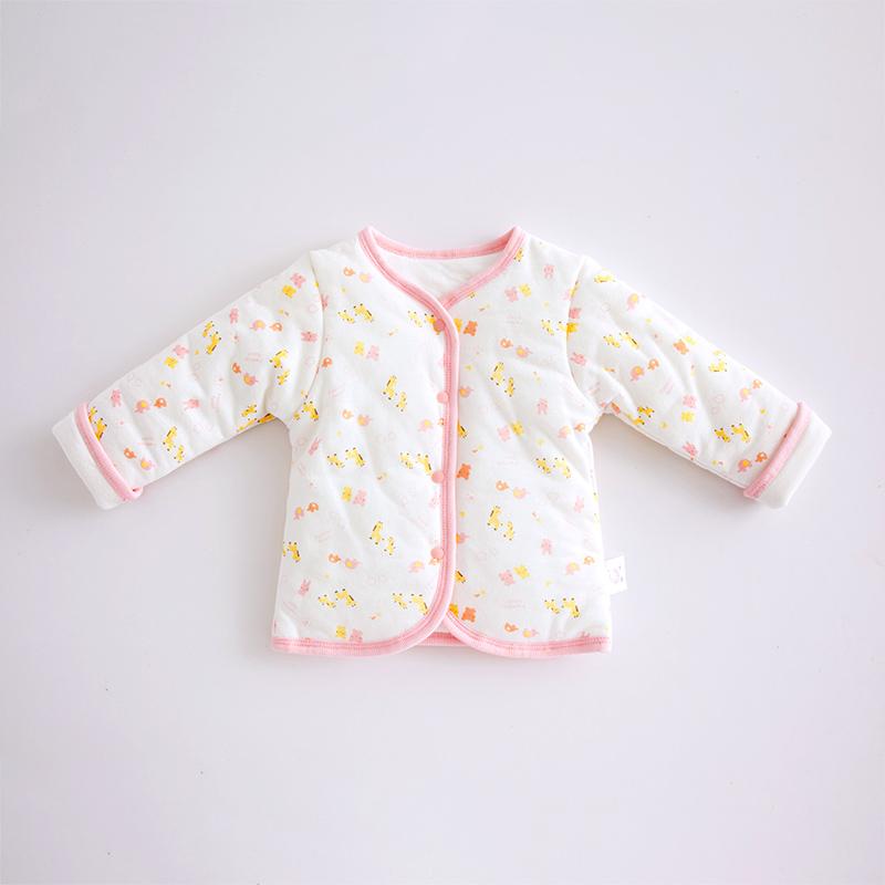 棉店 宝宝冬装加厚保暖男女童棉服0-12月新生儿保暖衣服婴儿棉袄