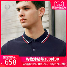 Fred Perry men's Polo new fashion casual crop Lapel short sleeve m3600xm in autumn and winter 2019