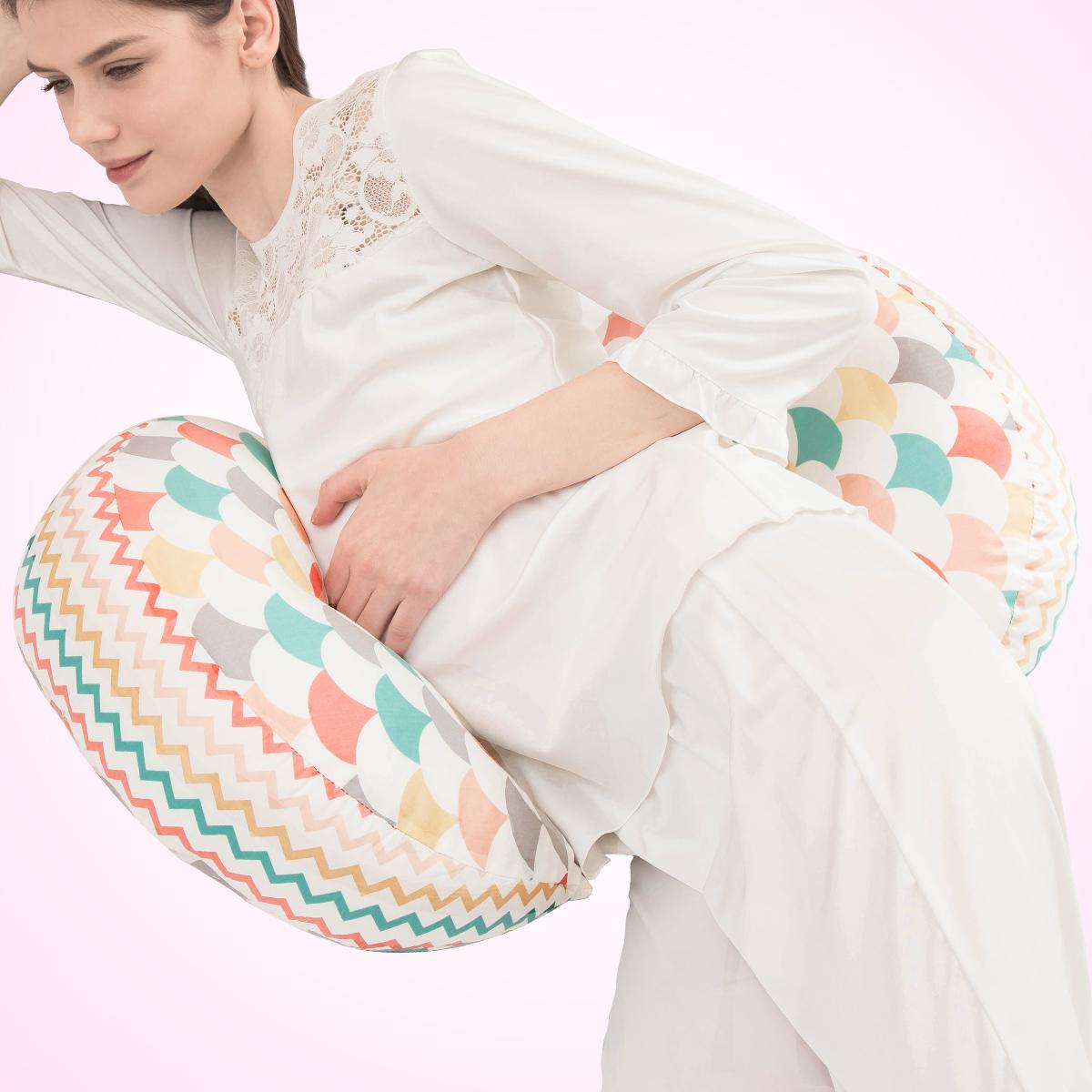 俪之孕 孕妇枕头护腰侧睡枕卧枕U型枕多功能托腹枕抱枕睡觉用品