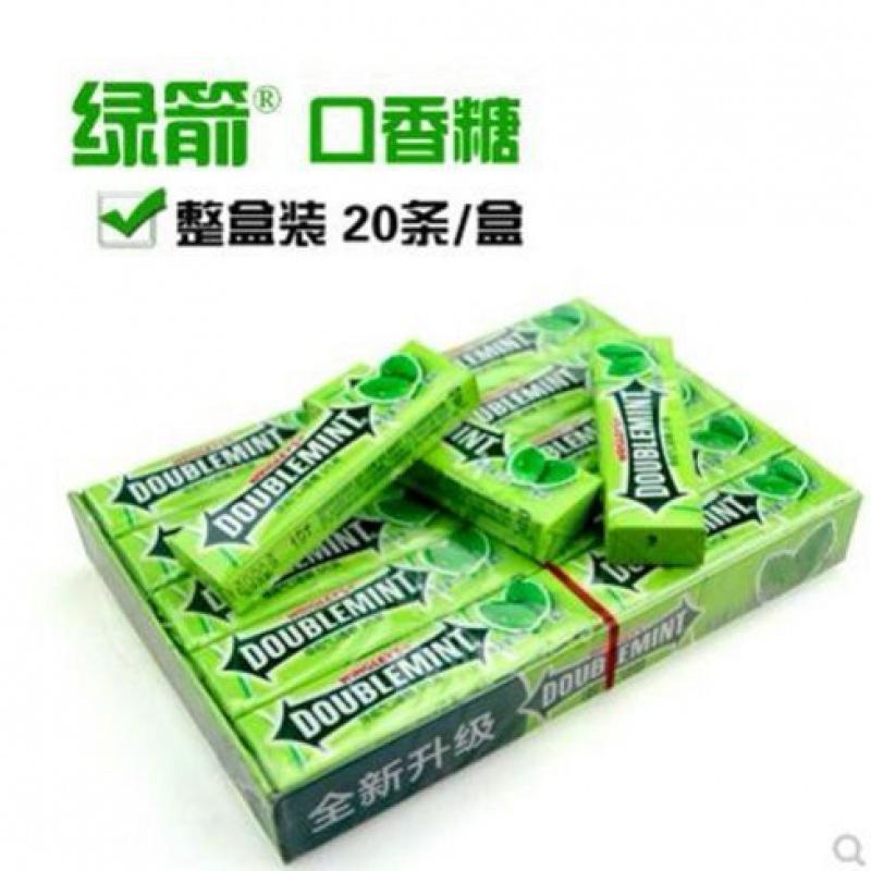 口香糖 散装20条100片箭牌薄荷清凉清口接吻糖果清新口气零食